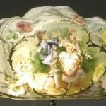 Pairpoint Lamp Floral Shade Value