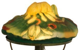 Pairpoint Lamp Lotus Shade Value