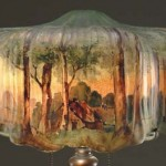Pairpoint Lamp Palm Shade Value