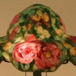 Pairpoint Lamp Rose Shade Value